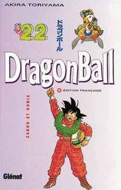 Couverture Zabon et Doria - Dragon Ball, tome 22