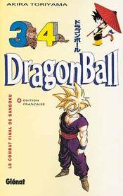 Couverture Le Combat final de Sangoku - Dragon Ball, tome 34