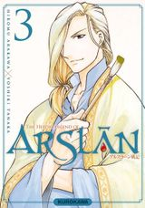 Couverture The Heroic Legend of Arslân, tome 3