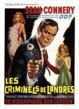 Affiche Les criminels de Londres