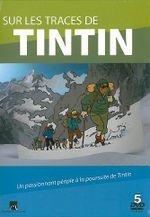 Affiche Sur les traces de Tintin