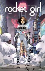 Couverture Rocket Girl, tome 1