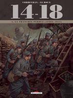 Couverture La Tranchée perdue - 14-18, tome 4