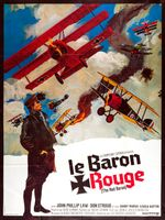 Affiche Le baron rouge
