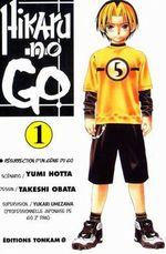 Couverture Hikaru no Go, tome 1