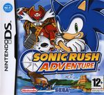 Jaquette Sonic Rush Adventure