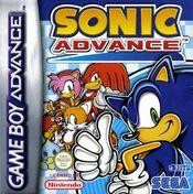 Jaquette Sonic Advance