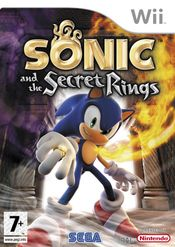 Jaquette Sonic and the Secret Rings