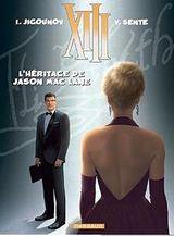 Couverture L'héritage de Jason Mac Lane - XIII, tome 24