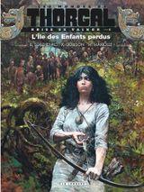 Couverture L'Île des enfants perdus - Les Mondes de Thorgal : Kriss de Valnor, tome 6