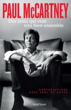 Couverture Paul McCartney : Des mots qui vont très bien ensemble