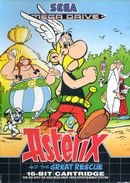 Jaquette Astérix and The Great Rescue