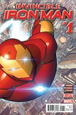 Couverture Invincible Iron Man (2015 - 2016)