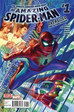 Couverture Amazing Spider-Man (2015 - 2017)
