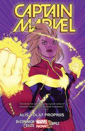 Couverture Alis Volat Propriis - Captain Marvel (2014), tome 3