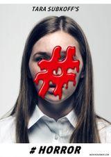 Affiche #Horror