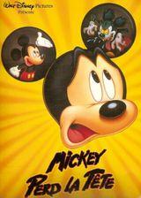 Affiche Mickey perd la tête