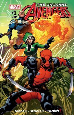 Couverture Uncanny Avengers (2015 - 2018)
