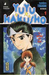 Couverture YuYu Hakusho