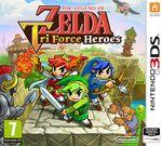 Jaquette The Legend of Zelda TriForce Heroes