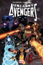 Couverture Pour Venger la Terre - Uncanny Avengers (2012), tome 4