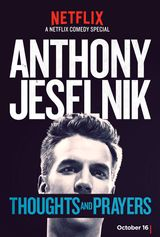 Affiche Anthony Jeselnik: Thoughts and Prayers