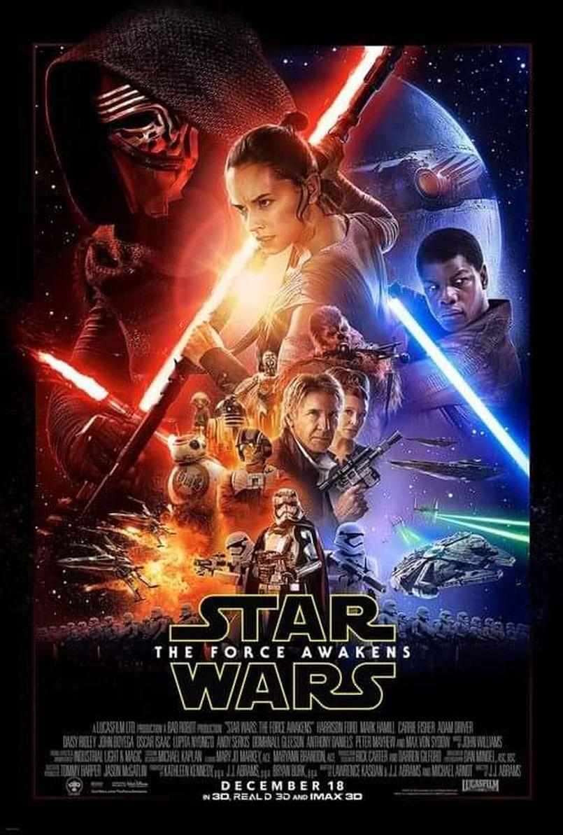 """Illustration L'affiche officielle de """"The Force Awakens"""" dévoilée !"""