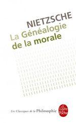 Couverture La Généalogie de la morale
