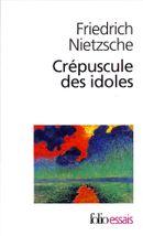 Couverture Crépuscule des idoles