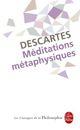 Couverture Méditations métaphysiques