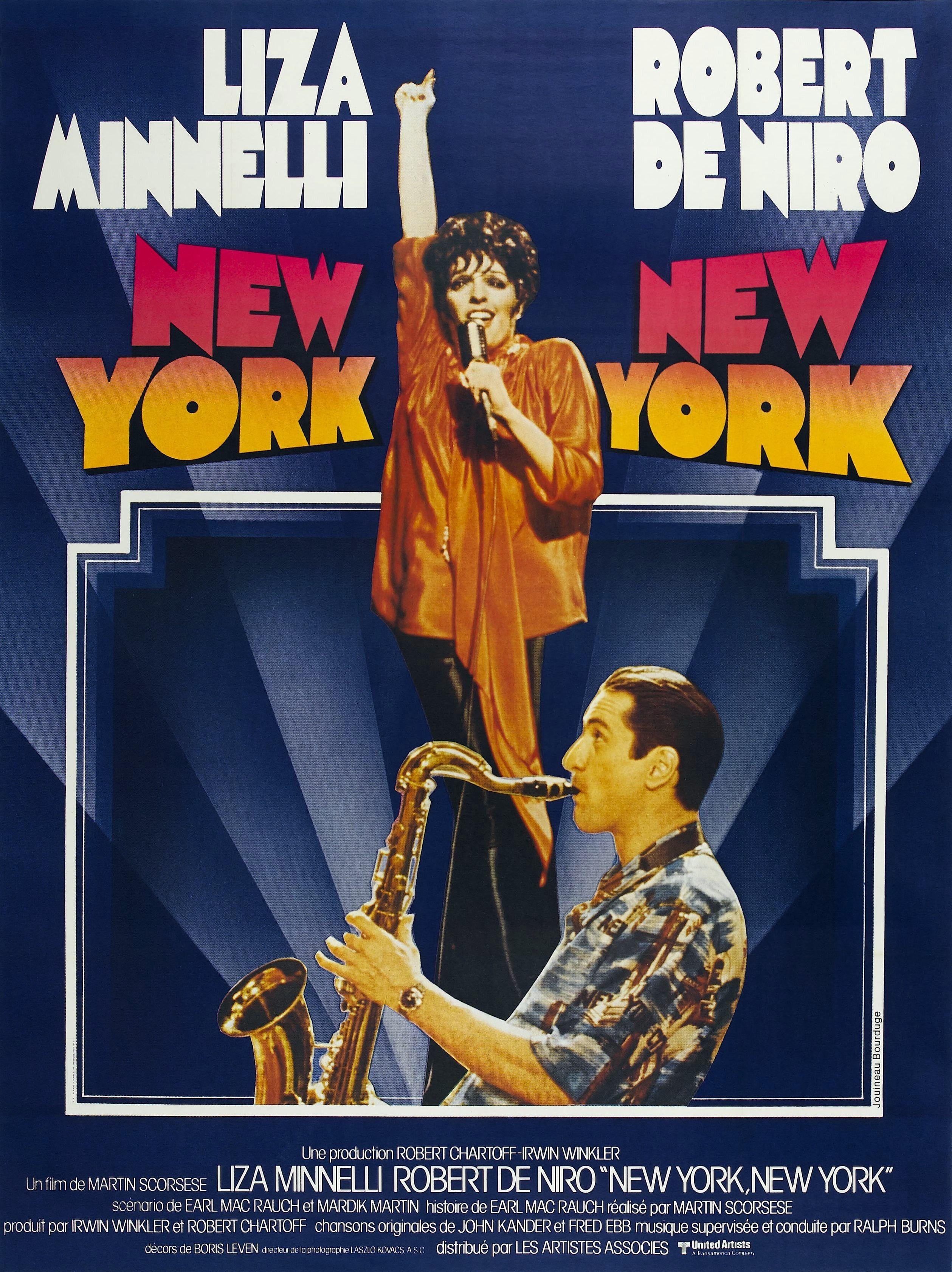 new york new york film 1977 senscritique. Black Bedroom Furniture Sets. Home Design Ideas