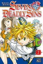 Couverture Seven Deadly Sins, tome 2