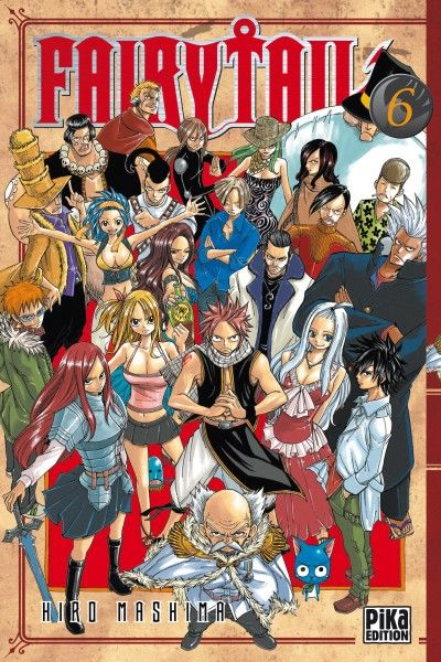 Fairy Tail Tome 6 Hiro Mashima Senscritique