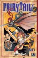 Couverture Fairy Tail, tome 8