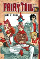 Couverture Fairy Tail, tome 10