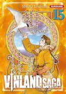 Couverture Vinland Saga, tome 15
