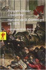 Couverture Histoire de la Commune de 1871