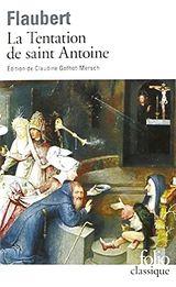 Couverture La Tentation de saint Antoine