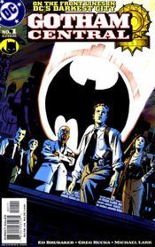 Couverture Gotham Central (2003 - 2006)