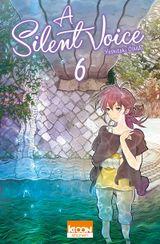 Couverture A Silent Voice, tome 6