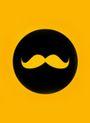 Affiche Golden Moustache