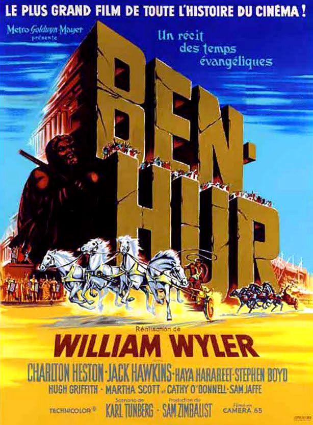 Affiches, posters et images de Ben-Hur (1959) - SensCritique