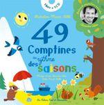 Couverture 49 comptines au rythme des saisons
