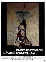 Affiche L'Évadé d'Alcatraz