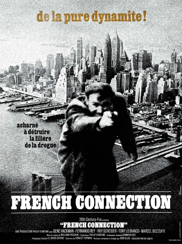french connection film 1971 senscritique. Black Bedroom Furniture Sets. Home Design Ideas