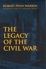 Couverture The Legacy of the Civil War