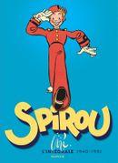 Couverture Spirou par Jijé : L'Intégrale 1940-1951