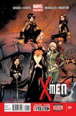 Couverture X-Men (2013 - 2015)
