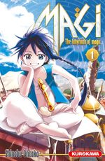 Couverture Magi : The Labyrinth of Magic, tome 1