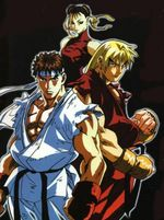 Affiche Street Fighter Alpha - Le film